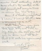 Page 2. This letter's envelope is stamped Feb 14, 1942 1:30 PM. It had two one-cent stamps on it.
