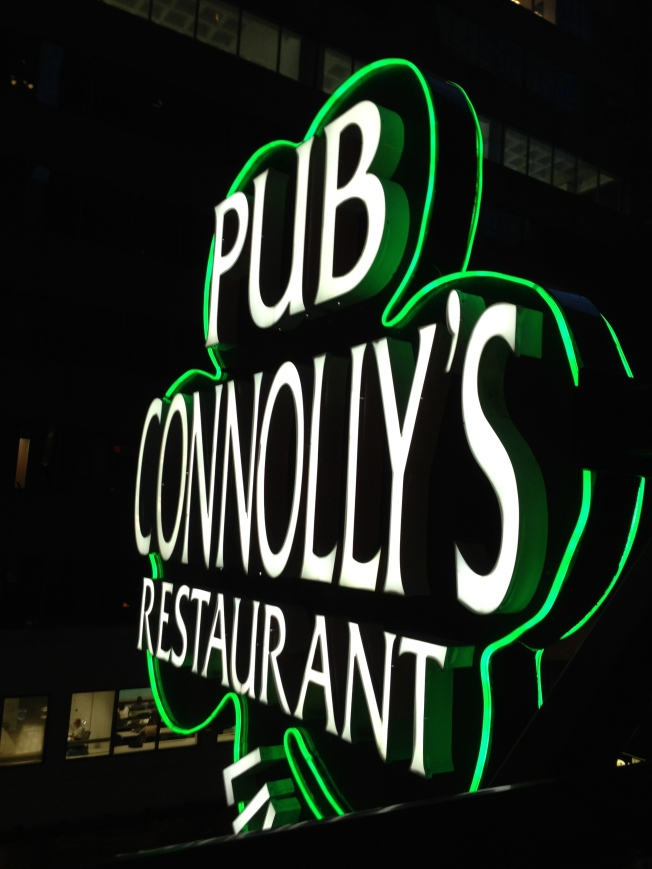 Only the best Irish pub in the city.