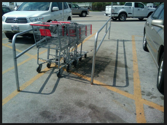 clean up your conscience. put your cart away.  www.ripoffreport.com