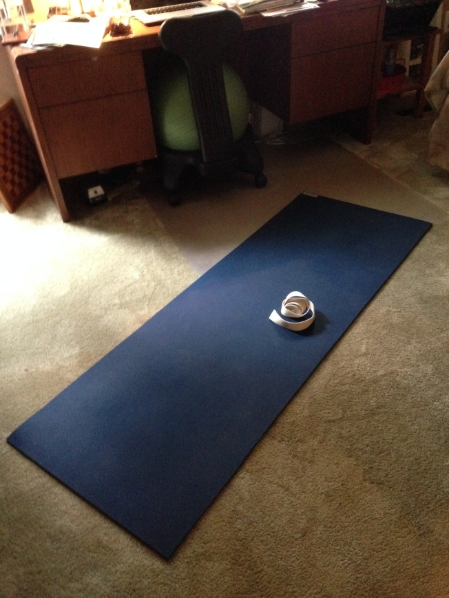 you, your mat and your strap.