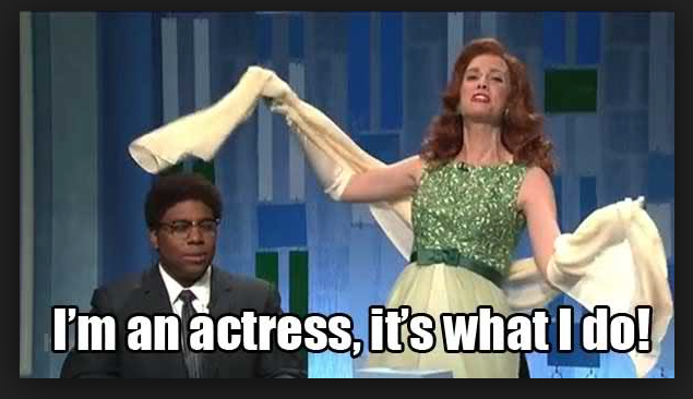 "Kristen Wiig's brilliant ""Mindy Grayson"" on SNL's Guess That Word! spoof. (c) NBC Universal"